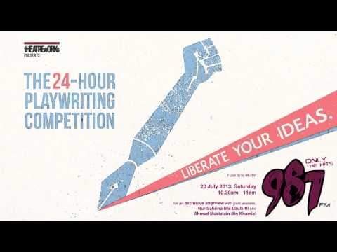 24 Hour Playwriting Competition 2013 - 98.7FM Radio Interview