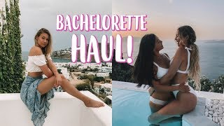 SUMMER BACHELORETTE HAUL!