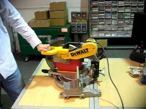 dewalt DW716 Double Bevel Compound miter saw for sale