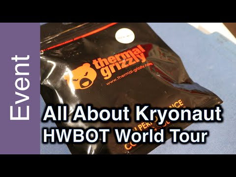 Hands on Thermal Grizzly's Kryonout Thermal Grease - HWBOT World Tour 2015