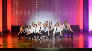 танец девочек 11 АБ на выпускном 2018. СШ№14 г. БРЕСТ
