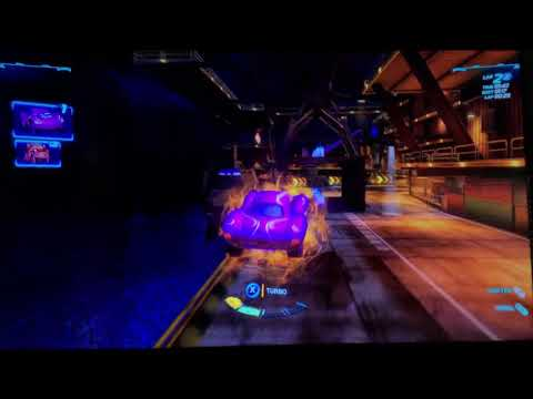 Cars 2 The Video Game | Racer Holley-Oil Rig Run |
