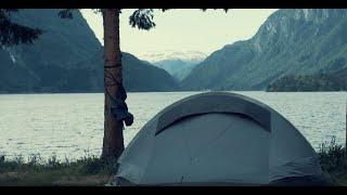 Weekendowa wycieczka na lodowiec Buarbreen, Samlen, camping Odda, Hordaland...