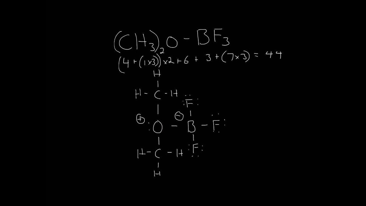 Lewis Structure  Ch3 2o-bf3