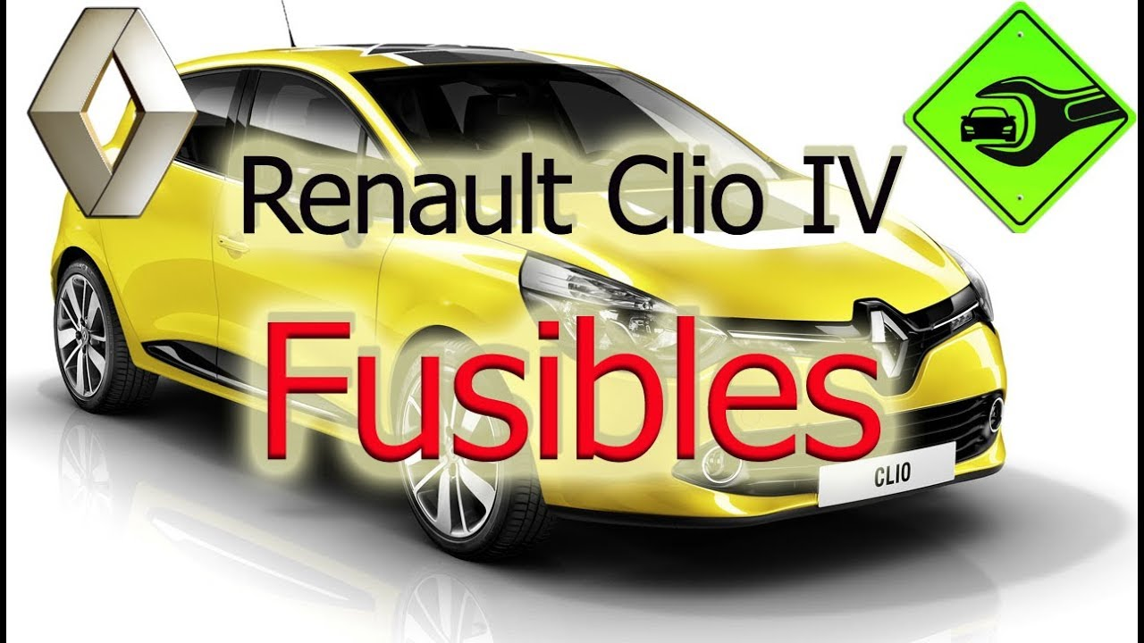 renault clio iv fusibles youtube. Black Bedroom Furniture Sets. Home Design Ideas