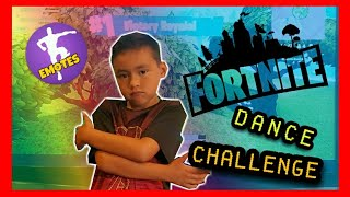 FORTNITE DANCE CHALLENGE (REAL LIFE) | THE LEM LIFE