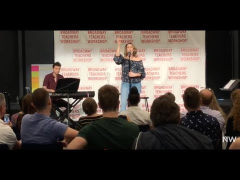 "Natalie Weiss Breaks Down ""Dyin' Ain't So Bad"" @ The Broadway Teachers Workshop"