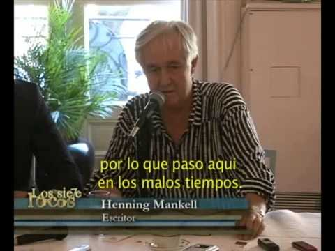Henning Mankell en Los siete locos