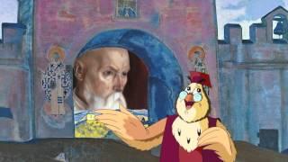 Казки картинної галереї - Микола Реріх (40 серія) (Уроки з тітонькою Совою)