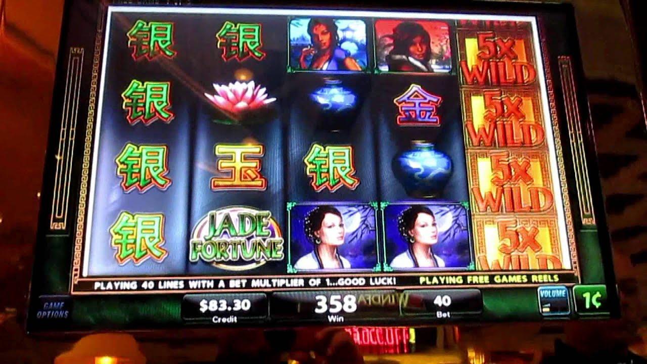 Jade fortune slot machine on lance la boule au hasard sur cette roulette