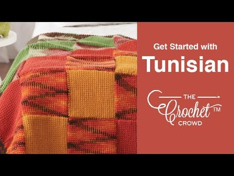 Tunisian Crochet Get Started Youtube