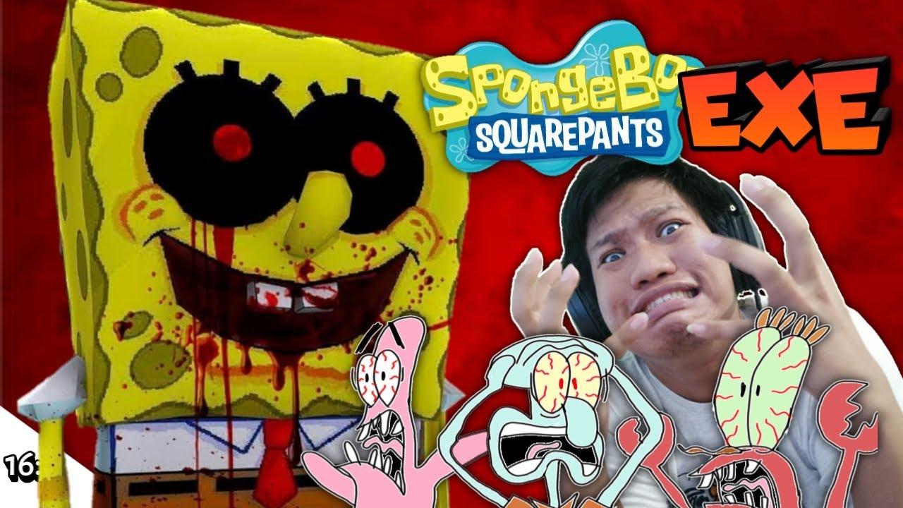 SPONGEBOB YANG INI TIDAK COMEL!!!! Spongebob EXE [SUB INDO] ~Yang Penakut Jangan Tengok!!