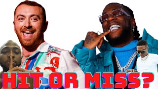 """Baixar BURNA BOY and Sam Smith Cause TROUBLE with New Song """"My Oasis"""": HIT or MISS? 