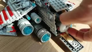 타이판키즈의 레고 스타워즈 8039 리퍼블릭어택크루저(…
