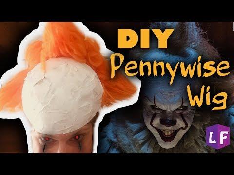 PENNYWISE WIG!!!! (DIY)