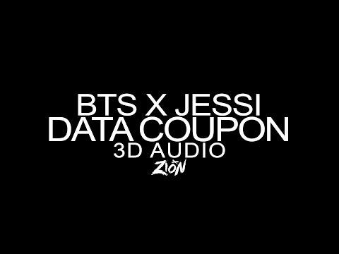 [SK텔레콤(Telecom)] BTS(방탄소년단) x JESSI(제시) - DATA COUPON(데쿠) (3D Audio Version)