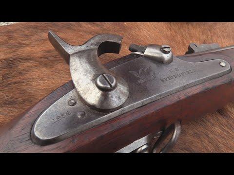 1861 Springfield Rifle Musket