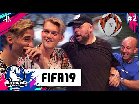 QUCEE & JAYJAY vs STEFAN & GIO | FIFA 19 | FOR THE WIN: KNOCK OUT S1 | #2