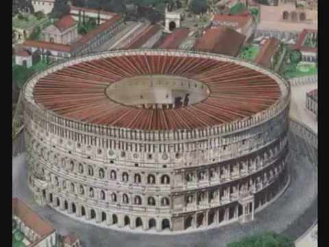 Architettura romana colosseo e acquedotto alessandrino for Architettura e design roma