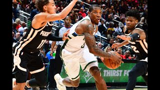 Highlights: Bucks' Bledsoe takes over late in win over Hawks