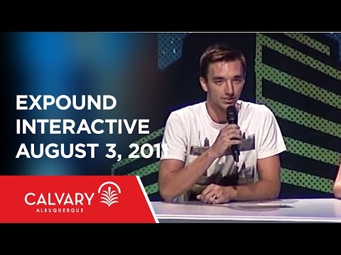 expound interactive from August 3, 2011