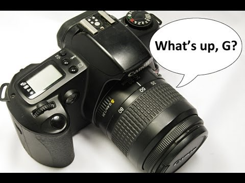 Introduction to the Canon EOS Rebel G, Video 1 of 2