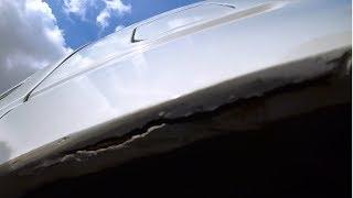 как я попал  при покраске авто, маляры испортили авто, смотреть всем!!!!