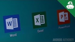 Microsoft Office for Android tablets quick look!