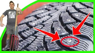 видео Как выбрать шипованные шины? Как подобрать зимнюю резину с шипами?