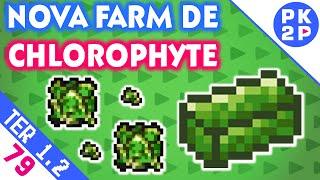A Multiplicação de Chlorophyte e Nova Farm! Terraria 1.2 • Gameplay PT BR • EP#79