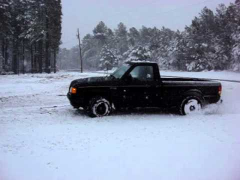 ford ranger vs toyota tacoma in the snow youtube. Black Bedroom Furniture Sets. Home Design Ideas