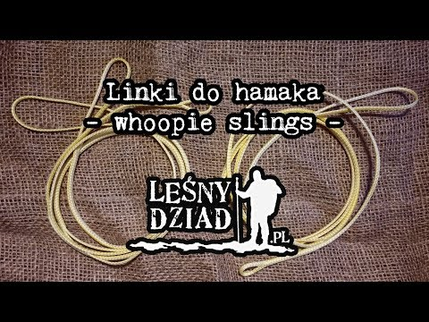 Linki do hamaka - whoopie slings