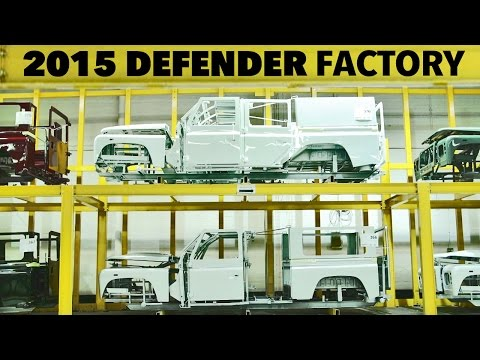 Land Rover Defender (2015) PRODUCTION