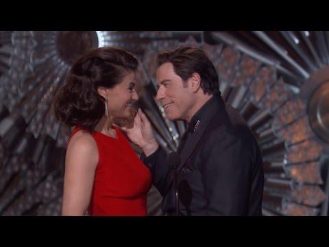 Idina Menzel's Revenge on John Travolta at the 2015 Oscars ...