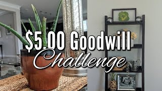 $5.00 Home Decor Goodwill Challenge-Fall 2018!