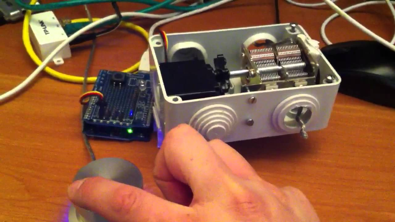 Arduino Antenna Tuner Through Ethernet And Powermate Usb Rds Coder Board Using Atmega32