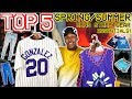 TOP 5 MENS SPRING & SUMMER STREETWEAR ESSENTIALS! GET RIGHT FOR THE SUMMER!