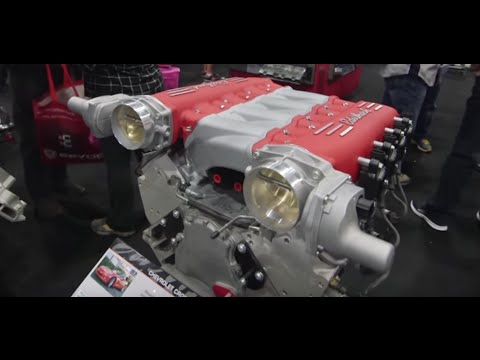 SEMA 2015: New LS3 Cross-Ram Intake from Edelbrock