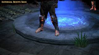 Path of Exile - Infernal Boots Skin