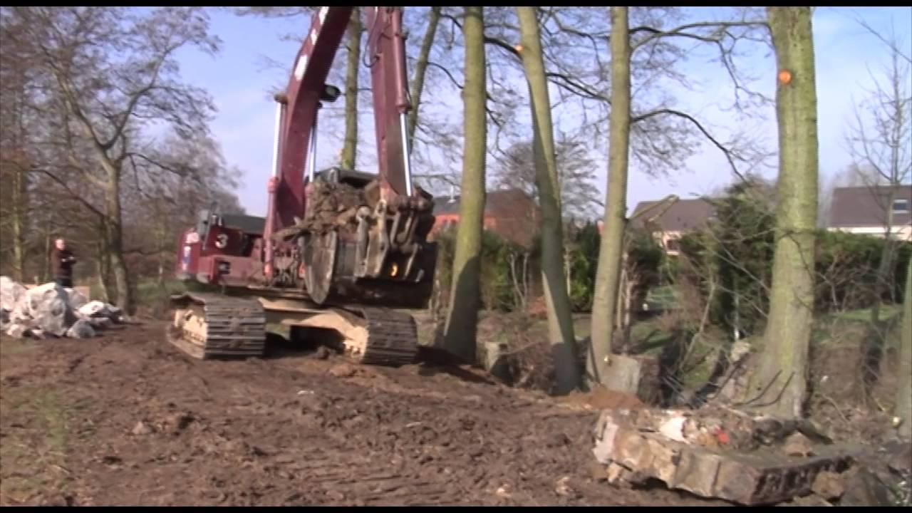Construire Pres D Un Ruisseau renforcement de berges sur le ruisseau de la batterie à hanret