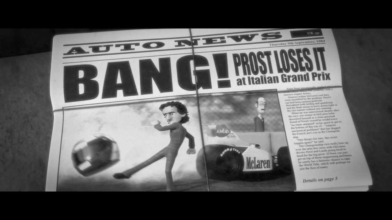 Tooned 50: Episode 5 - The Alain Prost Story - Motor Informed