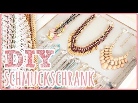 DIY Schmuckschrank