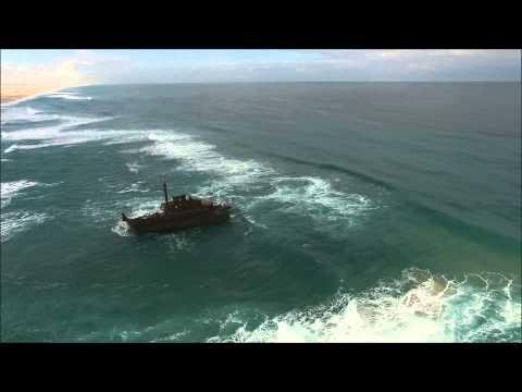 Stockton Beach and The Signa Shipwreck