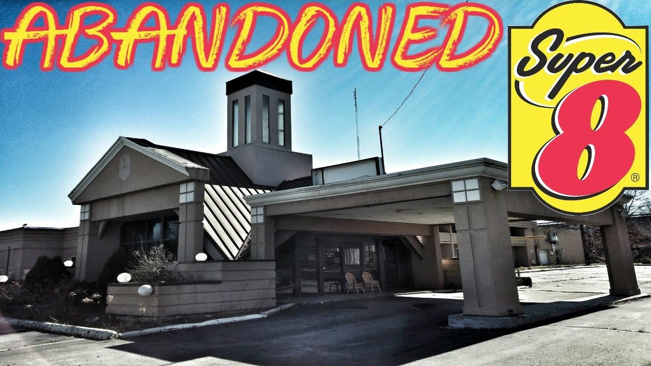 Abandoned Super 8 Hotel S Found Inside