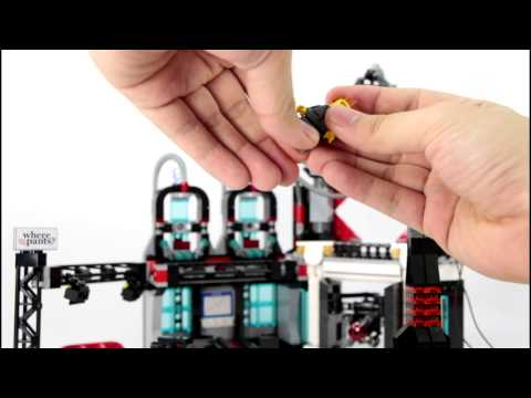 The LEGO Movie Lord Business Evil Lair Review