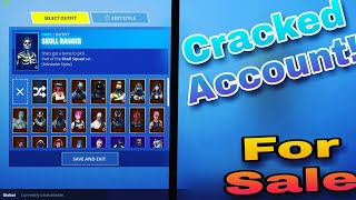 Selling a cracked fortnite account | cheap account