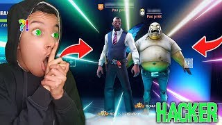 "I dared to put myself in the ""PEAU"" of a ""HACKER"", for 1 day on Fortnite ... (Exclusive skin)"