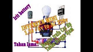 Download Video MINI INVERTER DC 1.5v - 6v To AC 220v  #JT atau Joule Thief MP3 3GP MP4