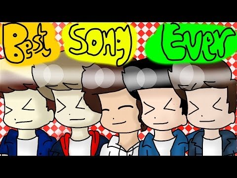 One Direction - Best Song Ever (Animated + Lyrics)