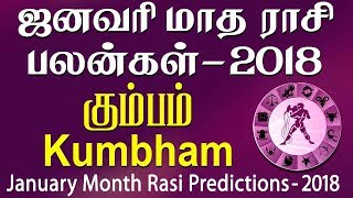 Kumbha Rasi (Aquarius) January Month Predictions 2018 – Rasi Palangal